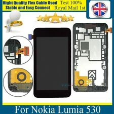For Nokia lumia 530 Replacement LCD Display + Touch Screen Digitizer + Frame UK