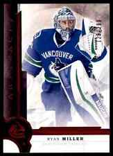 2016-17 ARTIFACTS RUBY RYAN MILLER 128/299 VANCOUVER CANUCKS #36