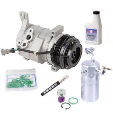 For Chevy Silverado GMC Sierra Escalade AC Compressor w/ A/C Repair Kit