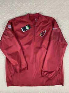 Arizona Cardinals Nike BNWT Windbreaker Jacket Mens Sz XL New Pullover Sideline
