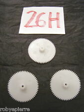 Ingranaggi ingranaggio pezzi di ricambio modellismo meccanismi in plastica 26H