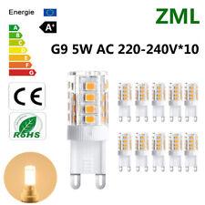 10x G9 LED Bulb 5W 33*2835SMD Warm White Energy Saving Light Super Bright AC220V