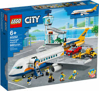 60262 LEGO CITY Passenger Airplane Airport Building Playset 669 Pieces Age 6+