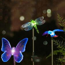 Solar LED Light Outdoor Path Garden Yard Lawn Landscape Spotlight Spot Lamp USA