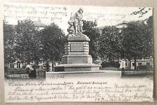 Anvers * Monument Boduognat* 1903 gelaufen * Antwerpen * Denkmal