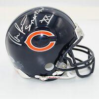 "Ron Rivera Signed Bears Mini Helmet Inscribed ""Super Bowl XX"" (COA)"