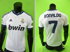 GALACTICOS  2012-2013 adidas Real Madrid Home Shirt RONALDO 7 SIZE YOUTH L.Boys