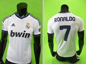 GALACTICOS  2012-2013 adidas Real Madrid Home Shirt RONALDO 7 SIZE YOUTH L.Boys