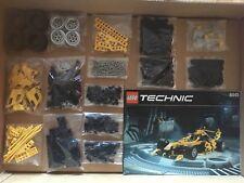 Lego Technic Technik 8445 F1 Auto. 100% Komplett