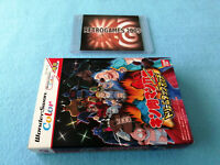 KINNIKUMAN SECOND GENERATIONS DREAM TAG MATCH  BANDAI WONDERSWAN COLOR  REG CARD