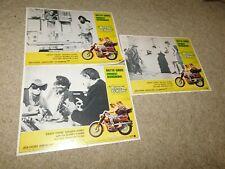 VINTAGE 1961 LOT OF 3 AMERICAN INTERNATIONA BUNNY OHARE LOBBY CARDS