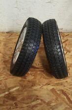 """14"""" pride Quantum Q6 Edge, HD wheelchair Dark Grey tires & wheels Pr1mo 3.00x8"""