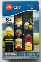 LEGO® City Fireman buildable watch with Lego Minifigure