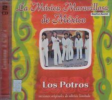 Los Potros La Musica Maravillosa De Mexico  2CD Nuevo Sealed