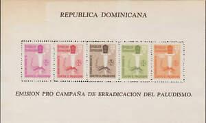 Dominican Republic - 1962 - SC B39-40,CB24-25 - NH - 2 Miniature sheets