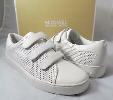 Women's Shoes Michael Kors CRAIG SNEAKER Fashion Optic White Leather Size 9.5