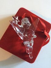 Waterford Crystal For Neiman Marcus 1999 Christmas Angel Ornament Rare With Box