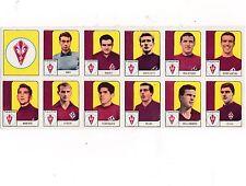 figurine calciatori squadra fiorentina completa ed nannina 1962-63 originale
