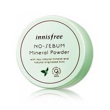 [INNISFREE] No Sebum Mineral Powder 5g / Sebum absorbing oil control Powder New