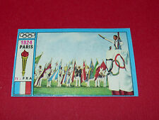 N°71 PARIS 1924 PANINI OLYMPIA 1896 - 1972 JEUX OLYMPIQUES OLYMPIC GAMES