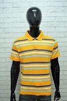 Polo Maglia a Righe Uomo CHAMPION Taglia XL Maglietta Manica Corta Shirt Man