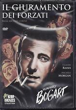 Dvd video **IL GIURAMENTO DEI FORZATI** con Humphrey Bogart nuovo sigillato 1944