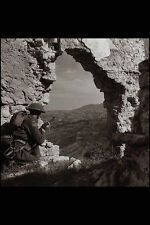 507051 Soldier Of Edmonton Regiment Italy 1943 Rows DND 141867 A4 Photo Print