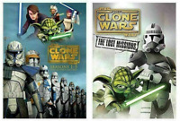 Star Wars The Clone Wars Season 1-6 (DVD Box Set) Complete Series Collection