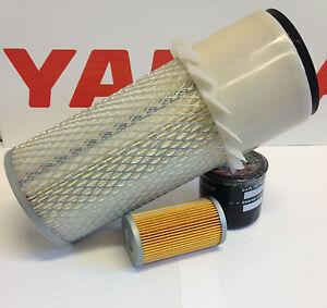 Yanmar Filter Kit B37-2 B37-2A B50-2 B50-2A Air Oil Fuel