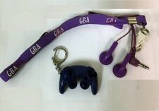 GBA Earphone Belt & Gamecube controller-Keychain Chain Ring  ***US SELLER***