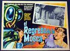 RARE Spanish Mexican Return of the Fly mini poster El Regresode La Mosca