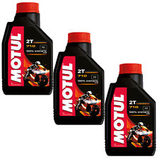 OLIO MOTORE MOTUL 710 2T 3 LT 100% SINTETICO MOTO SCOOTER MISCELA INIEZIONE 3LT