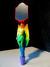 New Gold Angel City Brewing Rainbow Lgbt Gay Interest Beer Tap Handle Chalkboard