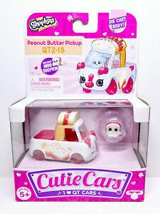 Shopkins Cutie Cars QT2-18 Peanut Butter Pickup Series 2 New