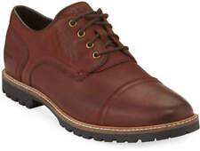 Cole Haan Men's Nathan Leather Cap-Toe Oxfords, Chestnut Color - Size 12M