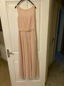 light pink bridesmaid dresses, Worn Once, Lovely Condition Size 8
