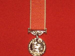 Miniature British Empire Medal BEM Medal EIIR with Civil ribbon mint condition