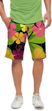 LOUDMOUTH shorts BIG POPPIES mens GOLF FLAT FRONT 2693 26995