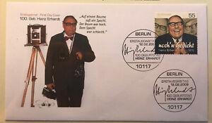 Heinz Erhardt Postage Stamp Arch Mint Unused Germany Nr.B50