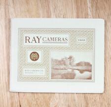 00004000 Ray 1899 Cameras Catalog/cks/203285