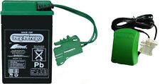 6v Green Battery and Charger Combo Peg Perego IAKB0509 for Ride On Toys 6 Volt