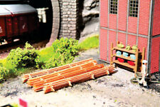 Walthers #949-4131 Stack of Rough Lumber 4 Piles of Fresh-cut HO Scale 1 87