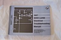 1987 BMW 635 csi Owners Electrical troubleshooting Service Manual wiring new e24