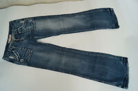 PEPE JEANS Picadilly Damen Schlag Hose Bootcut 29/32 W29 L32 used look Risse =2