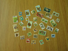 STAMPS  KENYA  34  ALL DIFFERENT / MIXTURE / COLLECTION    PK1 ARDT