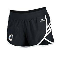Minnesota United FC MLS Adidas Women's Black 3-Strie Woven Shorts