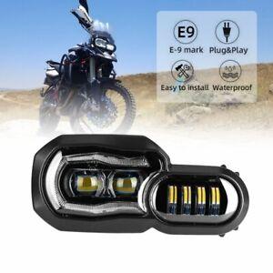 LED Scheinwerfer Motorrad Für BMW F800GS F 650 GS F 700GS F800R mit Zulassung