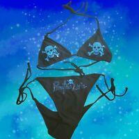PIRATE'S LIFE Brand Bikini BLACK or WHITE TOP&BOTTOM