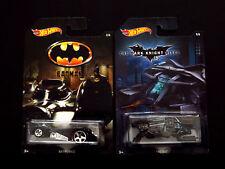 Hot Wheels 2015 Batman Series '89 Movie Batmobile & The Bat, 2 Die-cast Vehicles