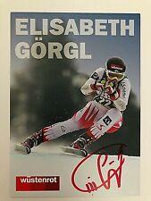 Elisabeth Görgl, ÖSTERREICH, SKI, sign. AK *BRONZE OS 2010*